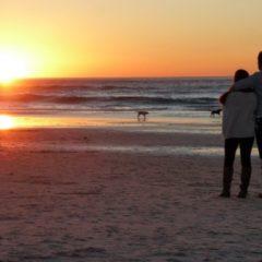 Couple On The Beach Love